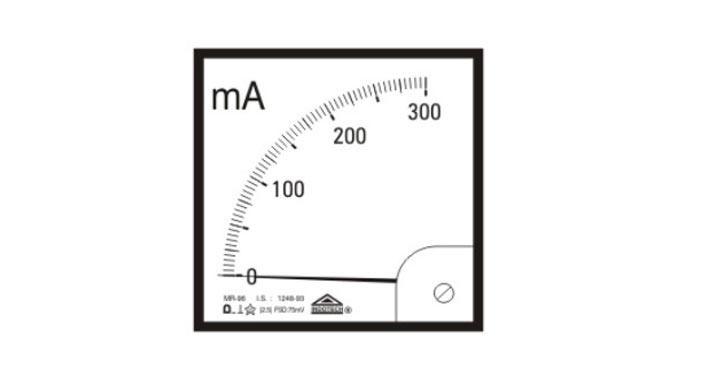 Indotech Analog Milli Ammeter