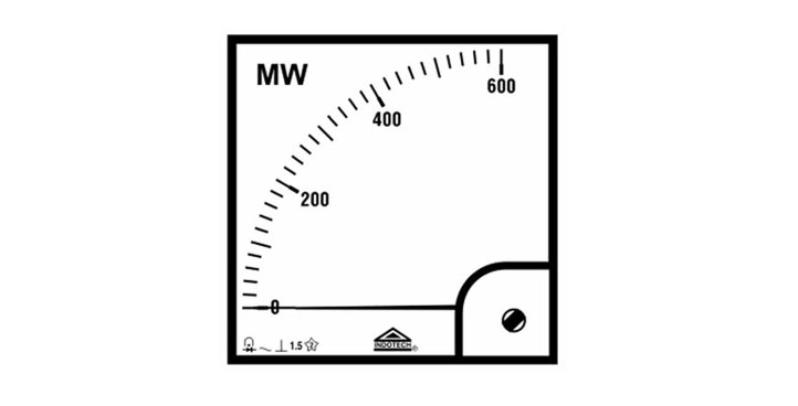 Indotech Analog MW Meter