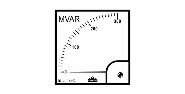 Indotech MVAR Meter