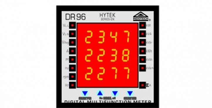 Indotech Digital Multi Function Meter