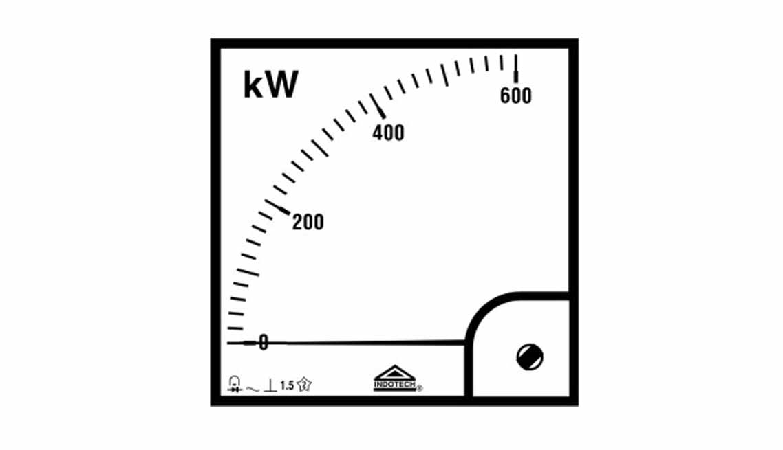 Watt-Meters–Analogue-Type