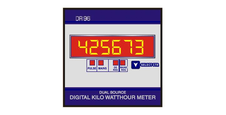 Indotech Digital kW Meter, kW Digital Meter