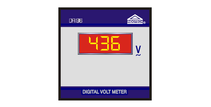 Digital Voltmeter AC, Indotech Digital Voltmeter AC