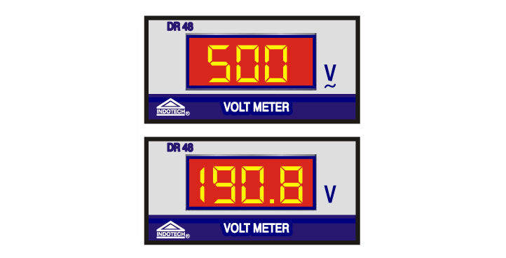 DC Digital Voltmeter, Indotech Digital Voltmeter DC