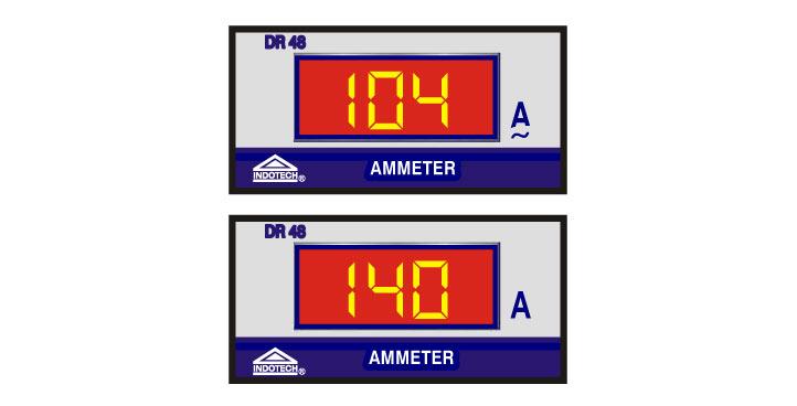 AC Digital Ammeter, Digital Ammeter AC