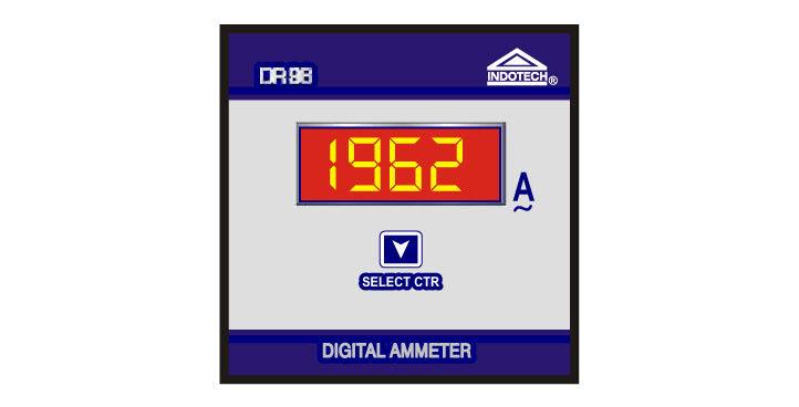 Indotech Digital Ammeter DC