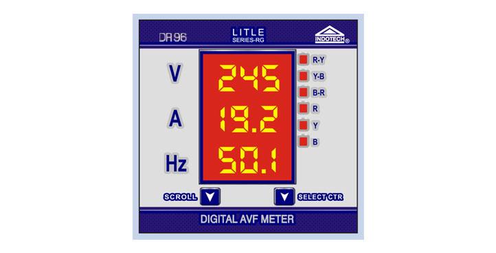 AVF meter, digital AVF Meter, VAF meter, digital VAF meter
