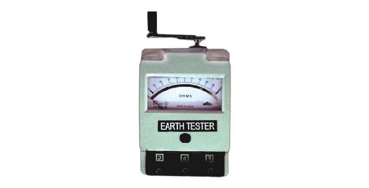 Grounding Resistance Tester, Earth Tester, Analog Grounding Resistance Tester, Analog Earth Tester
