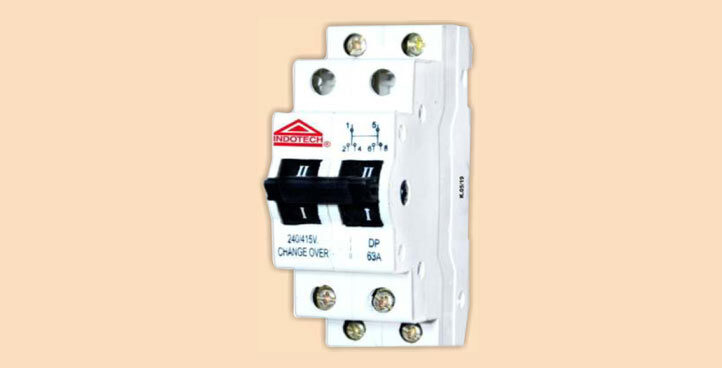 Indotech MCB Changeover Switch