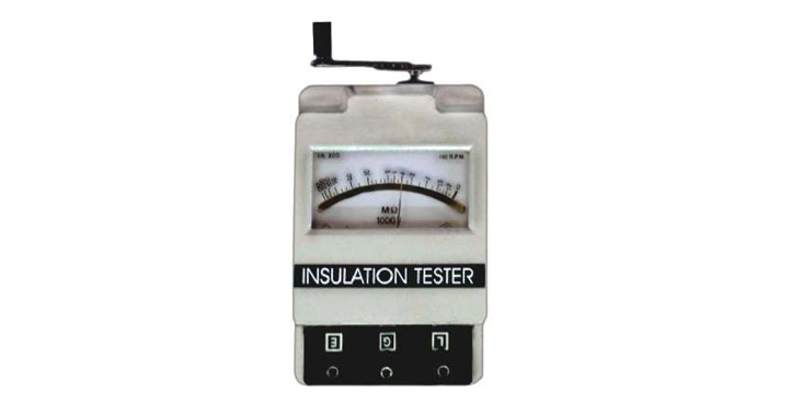INSULATION TESTERS, INSULATION RESISTANCE TESTERS
